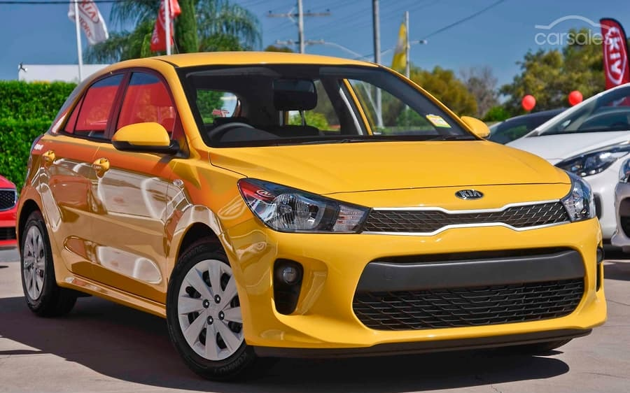 Kia Rio for Uber Rental - 2020 Model