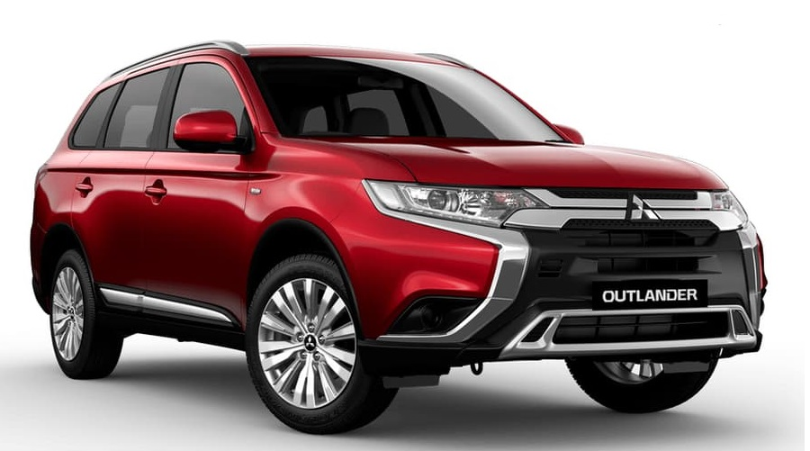 2020 Outlander for Uber rental hire car