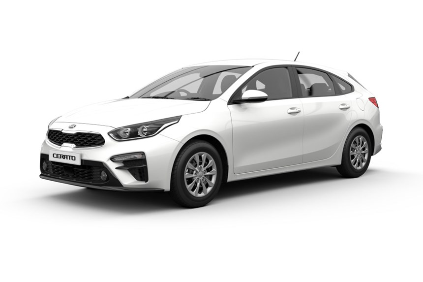 cerato hatch for rental uber hire