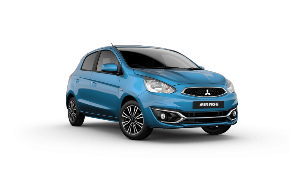 mitsubishi mirage for uber rental - 2020 model